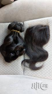 10inches Bouncy Magic Curls With Closure Human Hair | Hair Beauty for sale in Lagos State, Ikeja