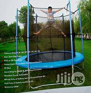 Intex Bouncing Trampoline Set With Round Net Covered | Sports Equipment for sale in Lagos State, Lagos Island