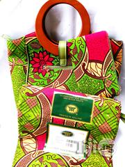 Affordable Ankara Bags With 6yards Wax Purse All Imported   Bags for sale in Kebbi State, Birnin Kebbi