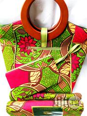 Affordable Ankara Bags With 6yards Wax Purse All Imported Iv   Bags for sale in Kebbi State, Birnin Kebbi