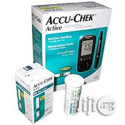 Accu-chek Active Blood Sugar Monitor – Glucometer + 10 Free Test Strips + Extra 50 Test Strips | Medical Equipment for sale in Lagos State, Agboyi/Ketu