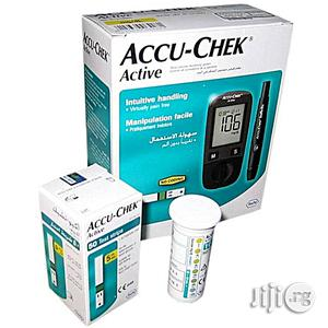 Accu-chek Active Blood Sugar Monitor – Glucometer + 10 Free Test Strips + Extra 50 Test Strips