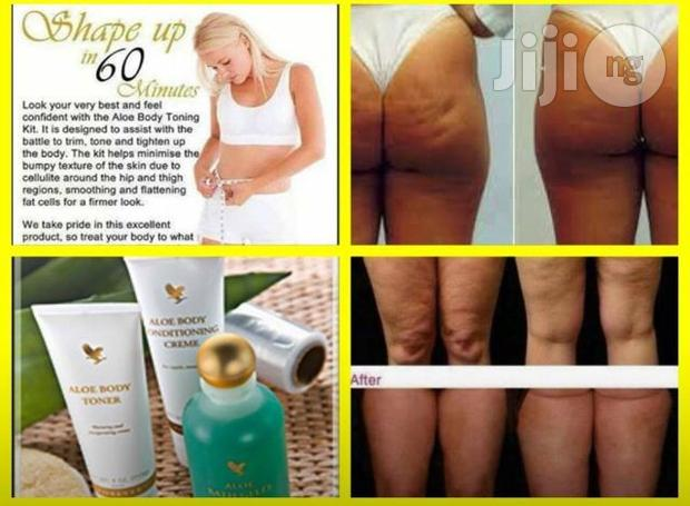 Aloe Body Toning Kit / Stretch Marks Removal