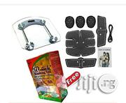 EMS Abdominal Muscle Trainer /Exerciser + Scale+ Free Gift   Sports Equipment for sale in Abuja (FCT) State, Gwarinpa