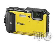 Nikon COOLPIX AW130 Waterproof and Shockproof Digital Camera With Built-In Wi-Fi (Yellow) | Photo & Video Cameras for sale in Abuja (FCT) State, Central Business District