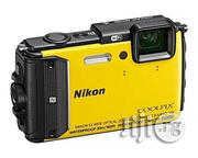 Nikon COOLPIX AW130 Waterproof and Shockproof Digital Camera With Built-In Wi-Fi (Yellow) | Photo & Video Cameras for sale in Rivers State, Port-Harcourt