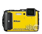 Nikon COOLPIX AW130 Waterproof and Shockproof Digital Camera With Built-In Wi-Fi (Yellow) | Photo & Video Cameras for sale in Lagos State, Ikeja