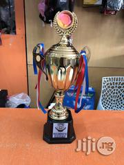 Gold Trophy With Print | Arts & Crafts for sale in Lagos State, Lekki Phase 2