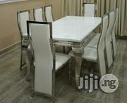 Quality 8 Seater Marble Dining Table | Furniture for sale in Lagos State, Lekki Phase 1
