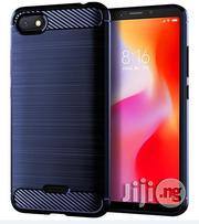 Xiaomi Redmi 6A Carbon Fiber Shockproof TPU Case (Navy Blue) | Accessories for Mobile Phones & Tablets for sale in Lagos State, Ikeja