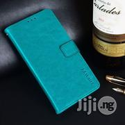 Lenovo A5, With Card Slot / Holder / Wallet Horizontal Flip Leather Case (Sky Blue) | Accessories for Mobile Phones & Tablets for sale in Lagos State, Ikeja