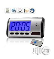Spy Table Clock Camera With Video Audio Recording | Security & Surveillance for sale in Lagos State, Ikeja