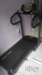 Fairly Used MOTION FITNESS 3.25hp DC Foldable Treadmill. | Sports Equipment for sale in Lagos State, Surulere