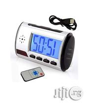 Spy Table Clock Camera With Video Audio Recording Edit | Security & Surveillance for sale in Lagos State, Ikeja