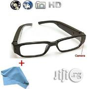 Spyglass Video Glasses Spyglasses Camera Eyeglasses + Cloth | Security & Surveillance for sale in Lagos State, Oshodi-Isolo