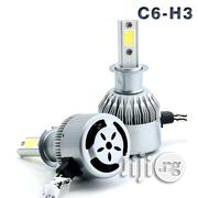 C6 H3 COB LED Headlight Bulbs Kit High/Low Beams | Vehicle Parts & Accessories for sale in Lagos State, Ojo