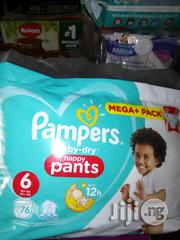 Pampers Baby Dry Pant Size 4-6 Jumbo Pack | Baby & Child Care for sale in Lagos State, Lagos Island