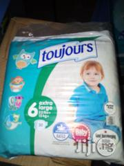 Toujours Diaper Size 6 | Baby & Child Care for sale in Lagos State, Lagos Island