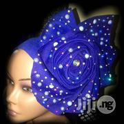 Royal Blue Aso Oke,Auto Gele | Clothing for sale in Lagos State, Lekki Phase 2