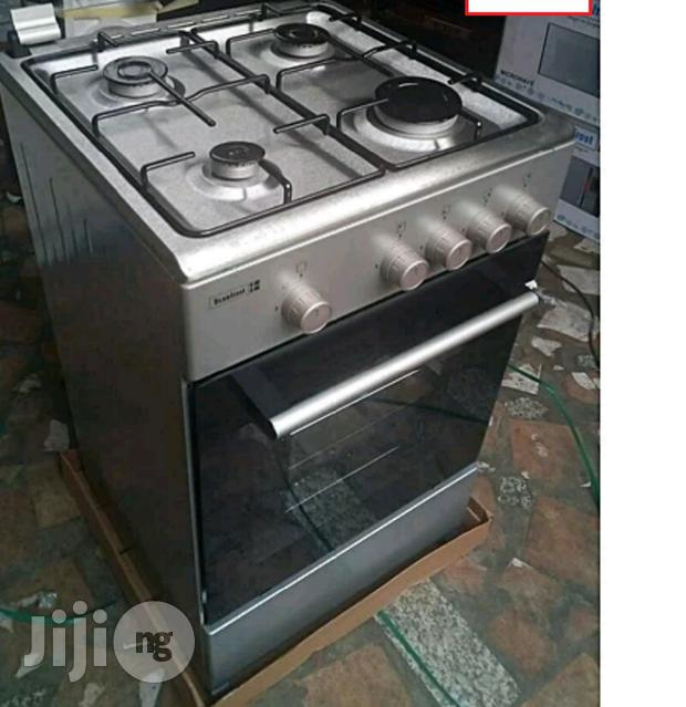 Archive: 4(Four) Gas Burners Standing Cooker With Oven SFC5402NG Made in Turkey