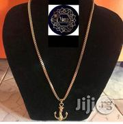 Exclusive Stainless Steel Neckchain With Anchor Pendant Doesn't Fade Nor Peel | Jewelry for sale in Lagos State, Lagos Island
