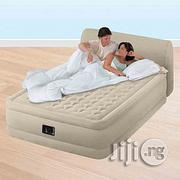Intex Headboard Standard Bedroom Airbed | Furniture for sale in Delta State, Warri South-West