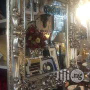 Decorative IITALIAN SILVER AND GOLDWOODEN Wall Mirror | Home Accessories for sale in Lagos State, Ikeja