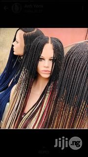 Multi Colour Braided Wig | Hair Beauty for sale in Lagos State, Ikotun/Igando