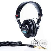 Sony MDR-7506 Headphone | Headphones for sale in Lagos State, Mushin