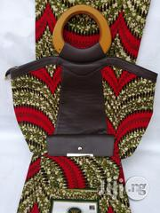 Italian Made Ankara Bags With 6yards Wax And Purse Iv   Bags for sale in Ebonyi State, Abakaliki