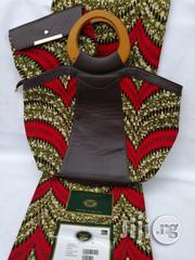 Italian Made Ankara Bags With 6yards Wax and Purse V   Bags for sale in Ebonyi State, Abakaliki