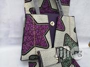 Italian Made Ankara Bags With 6yards Wax and Purse Xvii | Bags for sale in Enugu State, Enugu