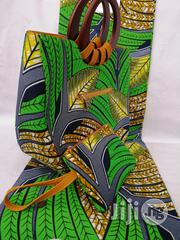 Italian Made Ankara Bags With 6yards Wax And Purse Xxxiv | Bags for sale in Imo State, Owerri