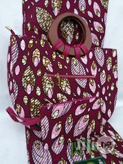 Italian Made Ankara Bags With 6yards Wax And Purse Xlix | Bags for sale in Kano State, Kano Municipal