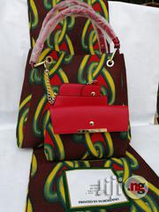 Italian Made Ankara Bags With 6yards Wax and Purse.Needed #Re-Seller/Bulk Buyers Vi   Bags for sale in Kebbi State, Birnin Kebbi
