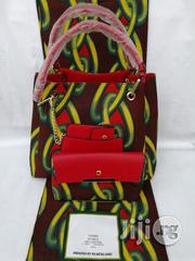 Italian Made Ankara Bags With 6yards Wax And Purse   Bags for sale in Kebbi State, Birnin Kebbi