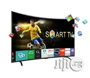 Brand New LG 55-inch Curve Smart 4K Ultra HD High Definition | TV & DVD Equipment for sale in Lagos State, Ojo