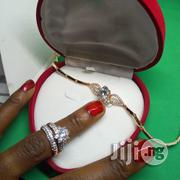 Angel Engagement, Wedding Ring ASL Handchain - (Silver Rose Gold) | Jewelry for sale in Lagos State, Ikeja