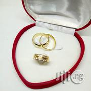 Brand New Romania Gold Engagement And Wedding Ring All Sizes Available | Wedding Wear for sale in Lagos State, Ikeja