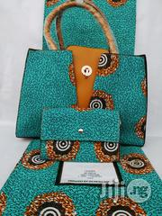 Fabric Bag With 6yrds Wax Purse on a Discount Price to Re-Seller/Bulk Buyers Xiii | Bags for sale in Ekiti State, Ado Ekiti