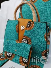 Fabric Bag With 6yrds Wax Purse on a Discount Price to Re-Seller/Bulk Buyers Xiv | Bags for sale in Ekiti State, Ado Ekiti