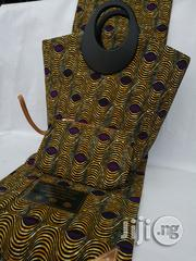 Fabric Bag With 6yrds Wax Purse on a Discount Price to Re-Seller/Bulk Buyers Xviii | Bags for sale in Enugu State, Enugu