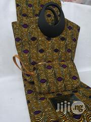 Fabric Bag With 6yrds Wax Purse on a Discount Price to Re-Seller/Bulk Buyers Xix | Bags for sale in Enugu State, Enugu