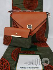 Fabric Bag With 6yrds Wax Purse on a Discount Price to Re-Seller/Bulk Buyers Xxvii | Bags for sale in Imo State, Owerri