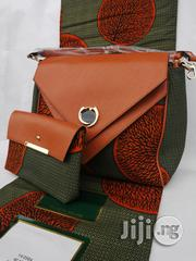 Fabric Bag With 6yrds Wax Purse on a Discount Price to Re-Seller/Bulk Buyers Xxviii | Bags for sale in Imo State, Owerri