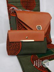 Fabric Bag With 6yrds Wax Purse on a Discount Price to Re-Seller/Bulk Buyers Xxix | Bags for sale in Imo State, Owerri