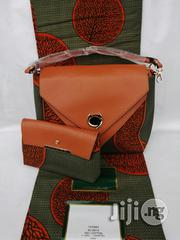 Fabric Bag With 6yrds Wax Purse on a Discount Price to Re-Seller/Bulk Buyers Xxx | Bags for sale in Imo State, Owerri