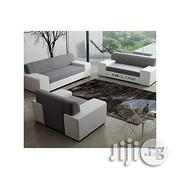 Generic Complete Set Avalon Sofa. Grey And White . Order Now And Get OTTOMAN . (DELIVERY TO LAGOS ONLY) | Furniture for sale in Lagos State, Lekki Phase 1