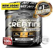 Muscletech 100% Pure Micronized Creatine Monohydrate Powder - 400g | Vitamins & Supplements for sale in Lagos State, Lekki Phase 1