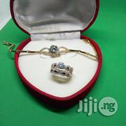 Angel Scot Engagement, Wedding Ring Hand Chain - (Silver Rose Gold) | Jewelry for sale in Lagos State, Ikeja